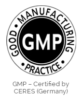 GMP Certified by CERES (Germany)